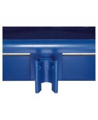 Держатель рукоятки из пластмассы, синий 877001