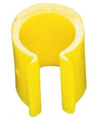 Фиксатор мусорного мешка, желтый 876905