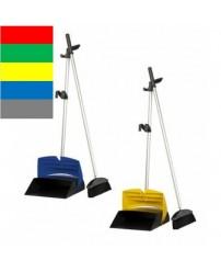 Комплект для уборки полов (метла и совок) 0896