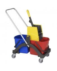 Тележка Vermop для влажной уборки Aquva 2х17 л 614392