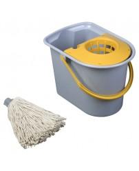 Набор для мокрой уборки Mini Aquva, без рукоятки